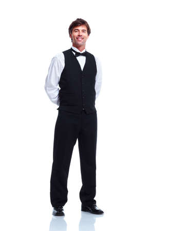 Waiter man  photo