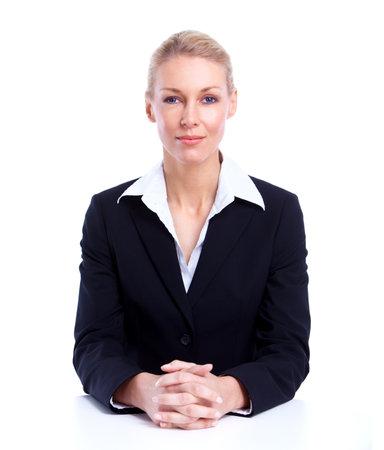 Accountant business woman  免版税图像