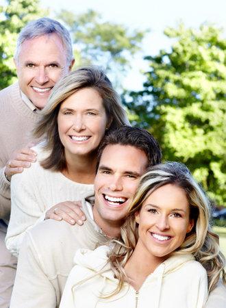 healty: Happy family