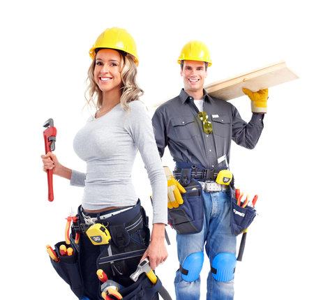 constructeur: Groupe des travailleurs de l'industrie Banque d'images