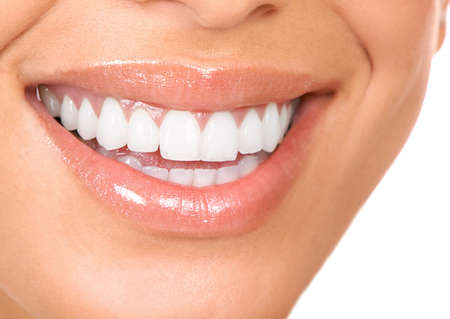 people smiling: Woman smile  Stock Photo