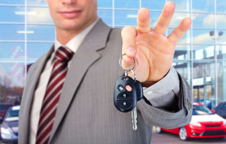 auto leasing: Car key