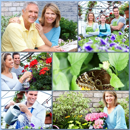 Gardening couple  photo