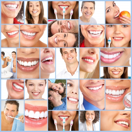 Happy woman smile  Stock Photo - 12637548