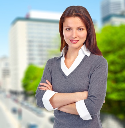Executive business woman  Stock Photo - 12637615