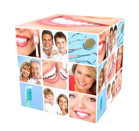 Teeth whitening  Stock Photo