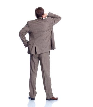Businessman back  photo
