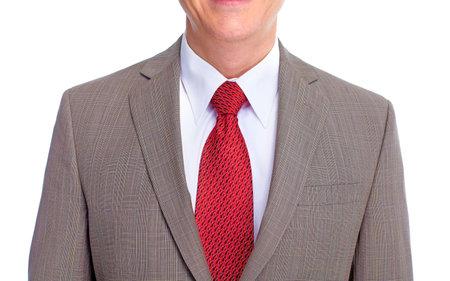 Executive businessman  Isolated on white background  免版税图像