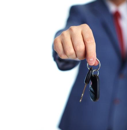 slot met sleuteltje: Autosleutels