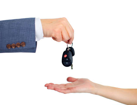 automobile sales: Car keys