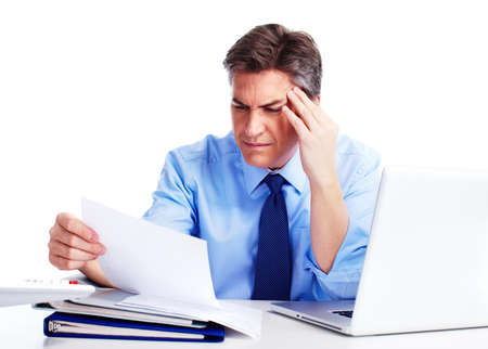 Accountant businessman  Stock Photo