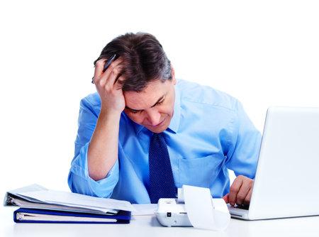 Accountant businessman  Imagens