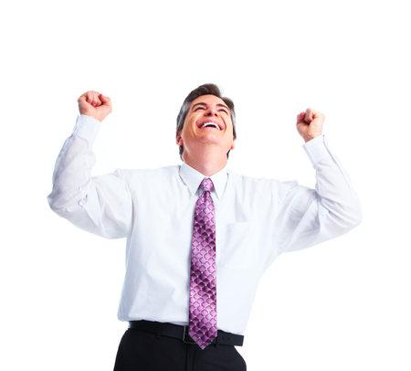 Happy businessman  photo