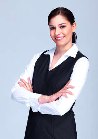 Young executive business woman  photo
