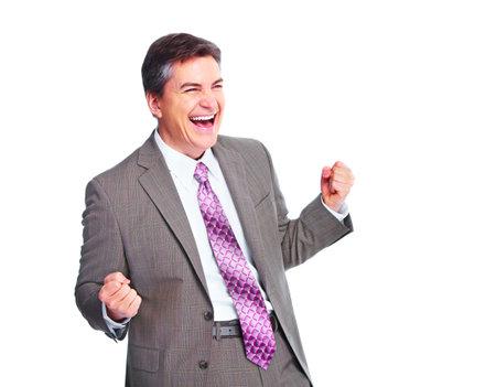 Happy businessman  Stock Photo - 13202518
