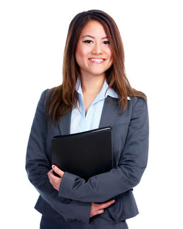 accountants: Young business woman