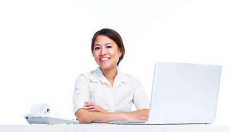 Young business woman Stock Photo - 13202439