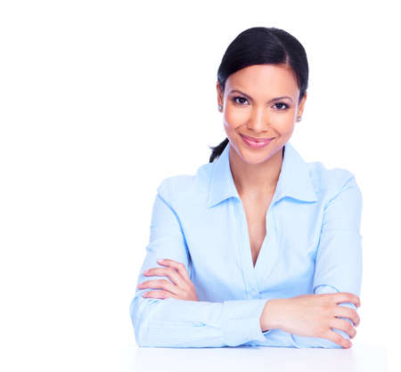 business woman: Young business woman