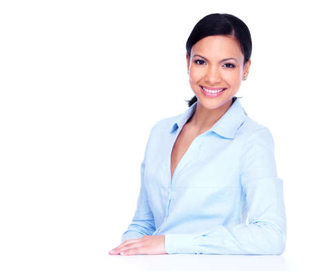 working woman: Young business woman