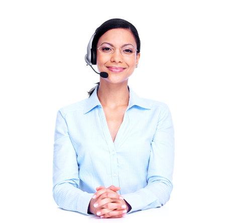 Call center operator zakenvrouw
