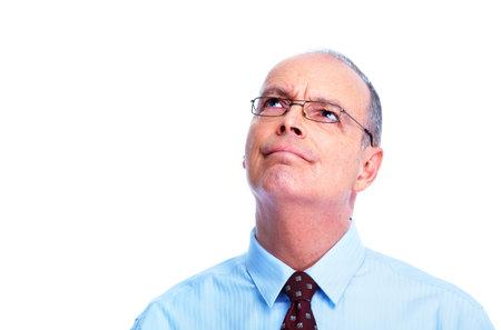critic: Skeptical businessman