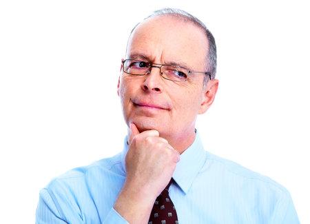 skeptical: Skeptical businessman