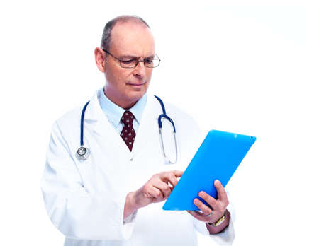 Doctor with tablet computer  photo