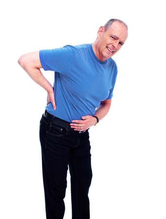 senior pain: Back pain