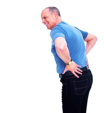 Back pain Stock Photo - 13288786