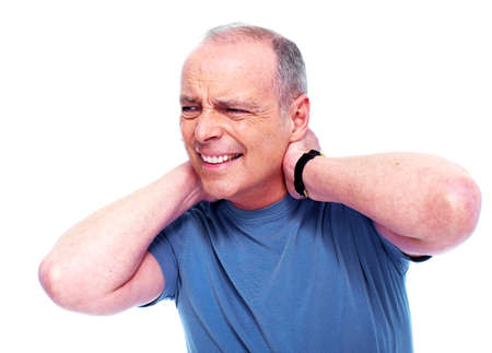 senior pain: Neck pain