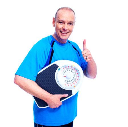 losses: Weight loss  Stock Photo