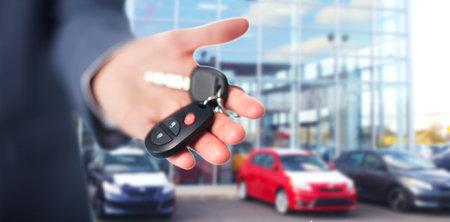 black car: Car keys