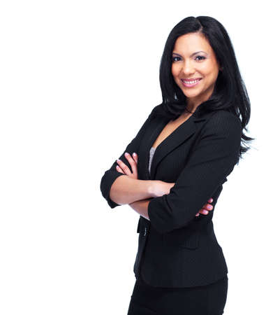 executive woman: Young business woman