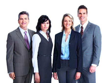 grupo de personas: Grupo de gente de negocios