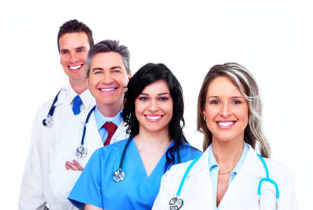 Medical doctors group Stock Photo - 13388355