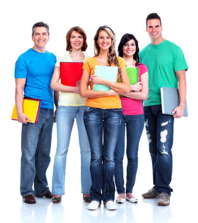 Group of happy students Stock Photo - 27257939