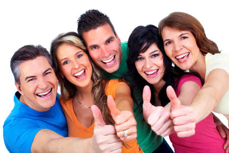 people: Group of happy people