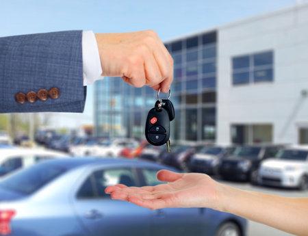 car sales: Car keys