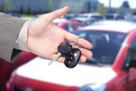 auto leasing: Car key