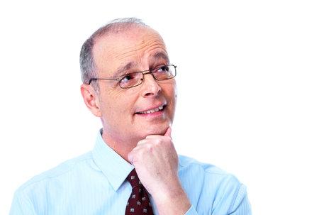 business skeptical: Skeptical businessman