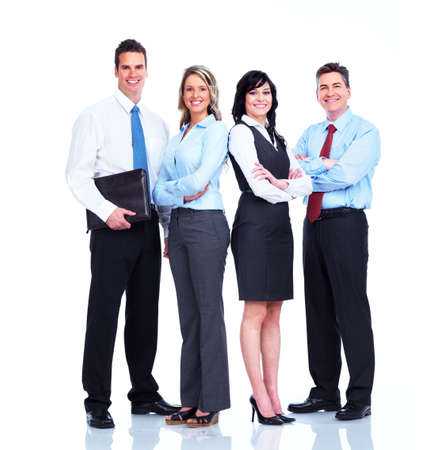 group  accountant: Group of business people  Stock Photo