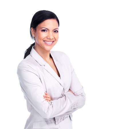 friendly people: Young business woman