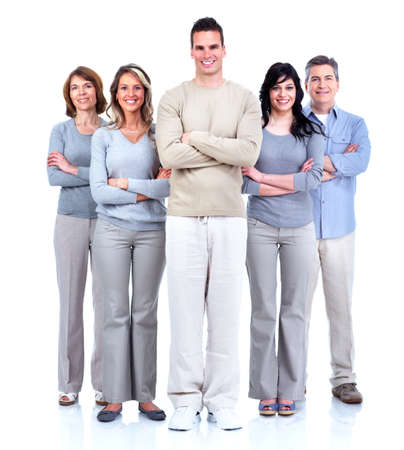 Group of happy people Stock Photo - 13977233
