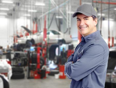 Mécanicien automobile Banque d'images - 13977882