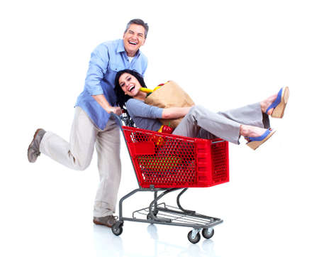 Shopping couple  Stock Photo - 14009885