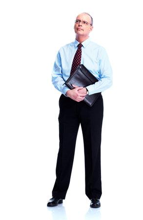Skeptical businessman  photo