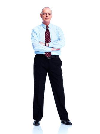 Mature executive businessman  photo