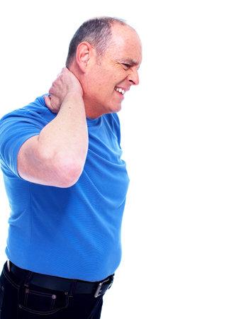 elderly pain: Dolore al collo