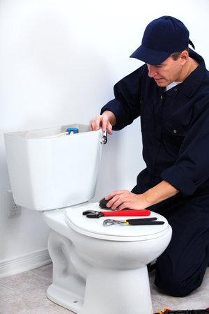 Professional plumber Reklamní fotografie - 14107403