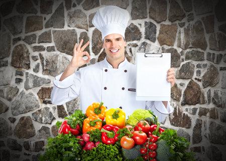 Chef man Stock Photo - 14201902